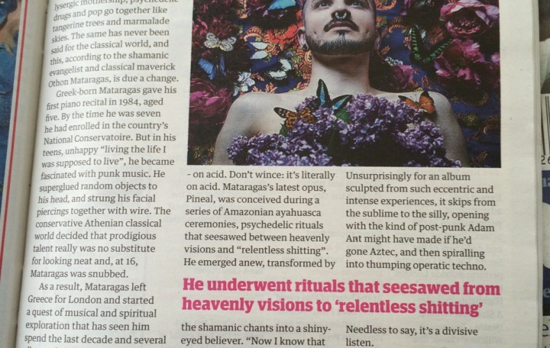 Othon's 'Pineal' features at The Guardian Guide