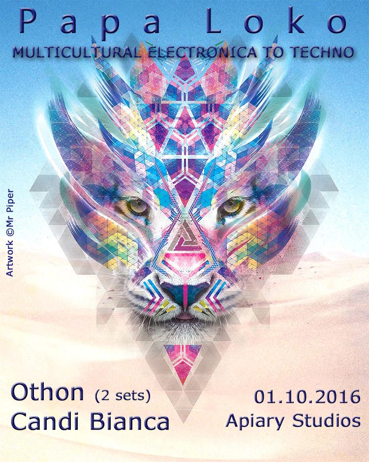 2 DJ sets for the next Papa Loko – October 1