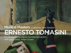 ERNESTO TOMASINI SINGS MY SONGS AT THE RADA