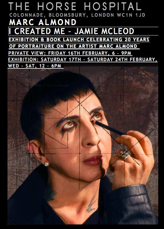 Text for book on Marc Almond 'I created Me' by Jamie McLeod