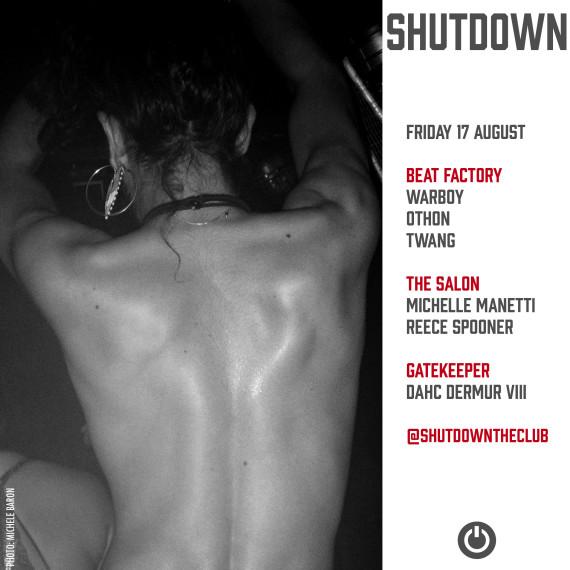Returning to Shutdown on 17 August