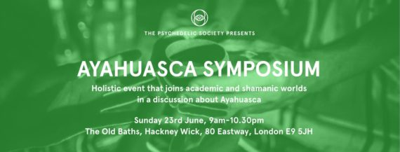 Ayahuasca Symposium DJ Set, Sunday 23 June