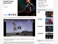 'Samadhi' World Premier on Music News